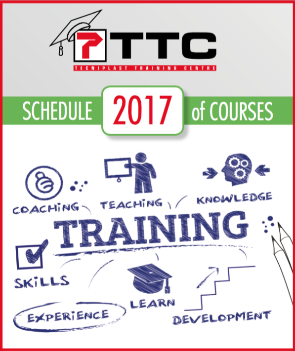 TTC 2017 training program: WE MATCH YOUR NEEDS SHARING OUR KNOWLEDGE WITH YOU!